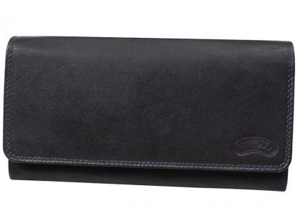 Dámská kožená peněženka Nivasaža N21-MTH-B černá