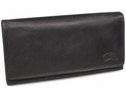 Dámská kožená peněženka Nivasaža N9-MTH-B černá