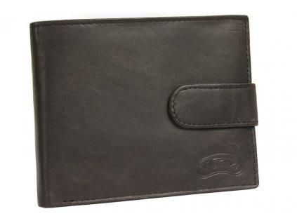 Pánská kožená peněženka Nivasaža N34-MTH-BR hnědá