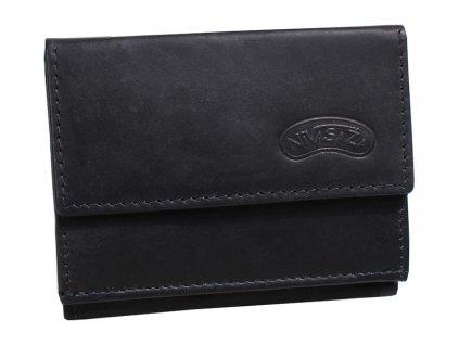 Kožená peněženka Nivasaža N38-MTH-B černá