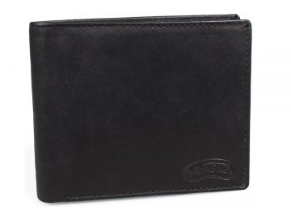 Kožená peněženka Nivasaža N59-MTH-B černá