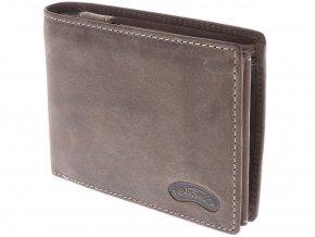 Pánská kožená peněženka Nivasaža N15-HNT-BR hnědá