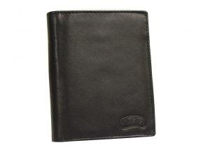 Pánská kožená peněženka Nivasaža N56-MTH-B černá