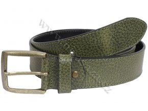 Pánský kožený pásek No Limits 111/38 zelený