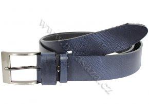 Kožený pásek PA502/40 modrý