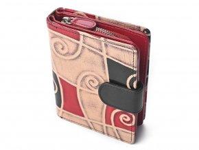 Dámská kožená peněženka Nivasaža N6-SNT-MG barevná