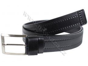 Kožený pásek PA208/40 černý