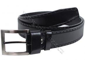 Kožený pásek PA209/40 černý
