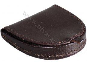 Kožená peněženka na mince PE408-BR hnědá