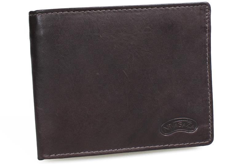 Pánská kožená peněženka Nivasaža N212-MTH-BR hnědá