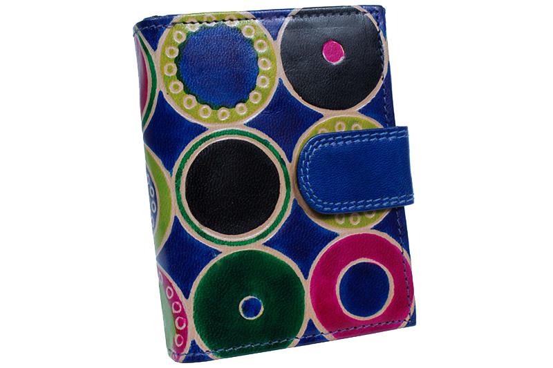 Dámská kožená peněženka Nivasaža N6-SNT-MC barevná