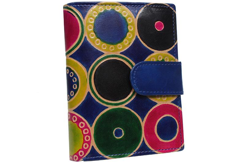 Dámská kožená peněženka Nivasaža N75-SNT-MC barevná
