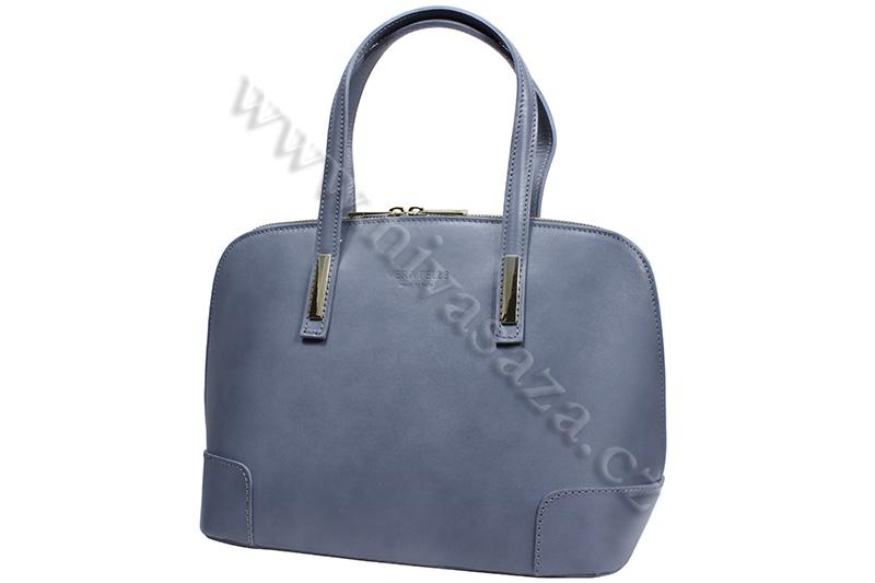 Dámská kožená kabelka ITA2121-GY šedá