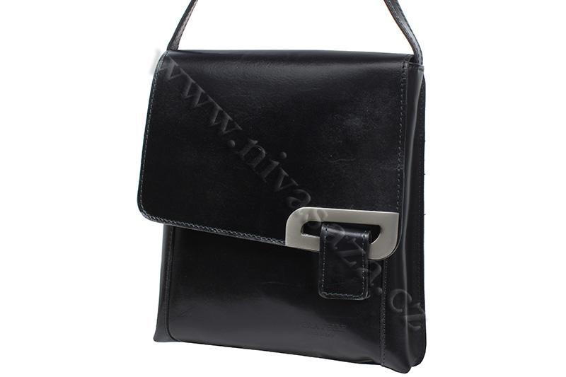 Dámská kožená kabelka ITA2621-B černá