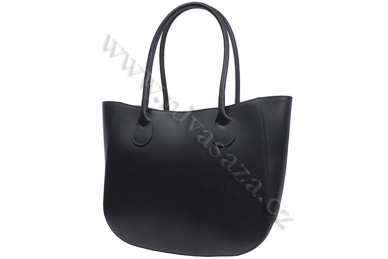 Dámská kožená kabelka ITA5522-B černá