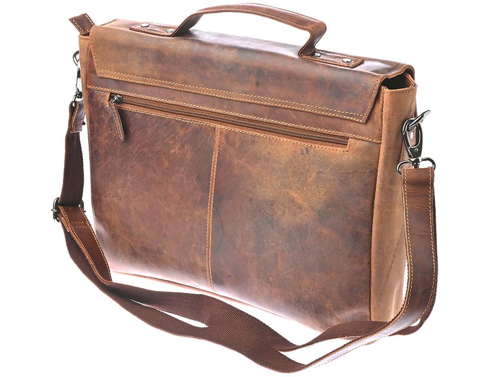 Pánská kožená taška Green Wood 19195H-KHA hnědá