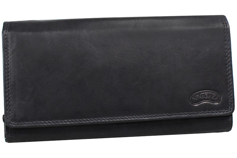 Dámská kožená peněženka Nivasaža N10-MTH-B černá