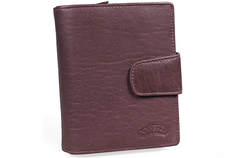 Dámská kožená peněženka Nivasaža N43-SVL-V fialová