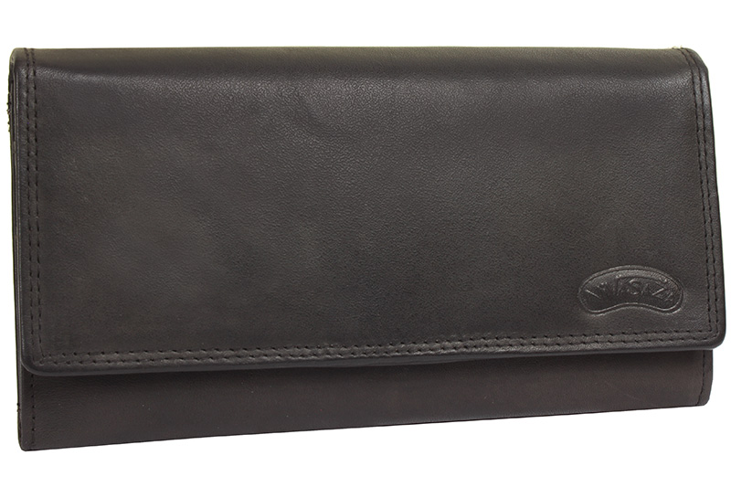 Dámská kožená peněženka Nivasaža N7-MTH-BR hnědá
