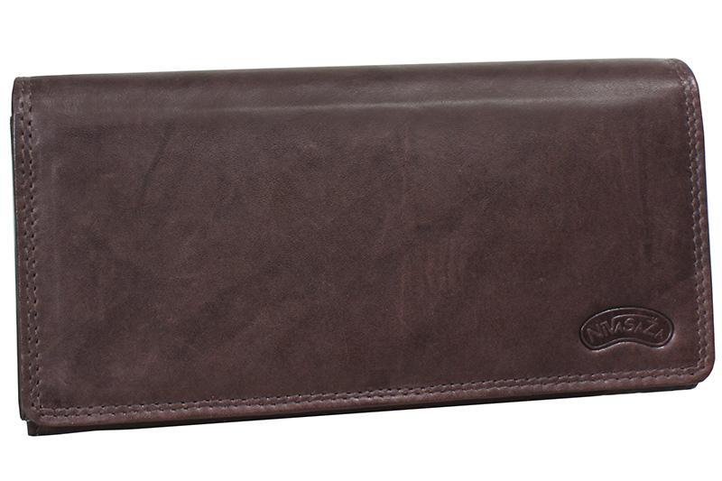 Dámská kožená peněženka Nivasaža N9-MTH-BR hnědá