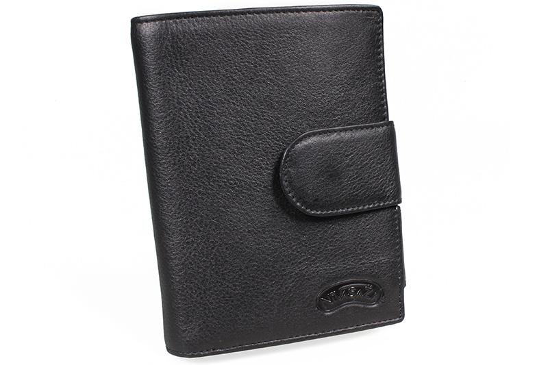 Kožená peněženka Nivasaža N25-FNP-B černá