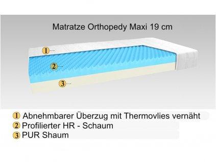 Matratze Orthopedy Maxi 20 cm