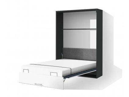 Schrankbett mit Lamelen VS1054 200x160 cm Birke