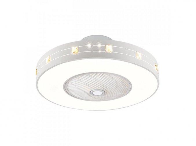 Noaton 11060W Nebula, bílá  stropní ventilátor se světlem