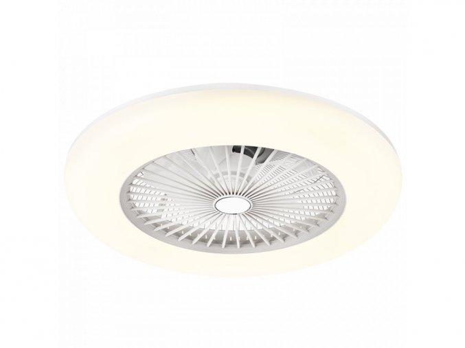 Noaton 11055W Callisto, bílá  stropní ventilátor se světlem