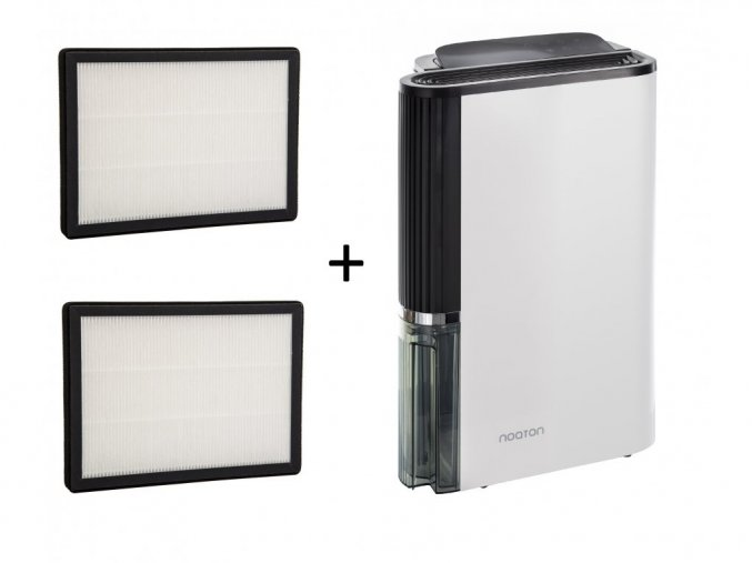Luftentfeuchter und Luftreiniger Noaton DF 4123 HEPA - 2x HEPA Filter
