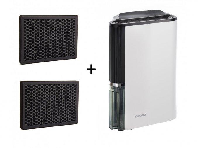 Luftentfeuchter und Luftreiniger Noaton DF 4123 HEPA - 2x Kohle Filter
