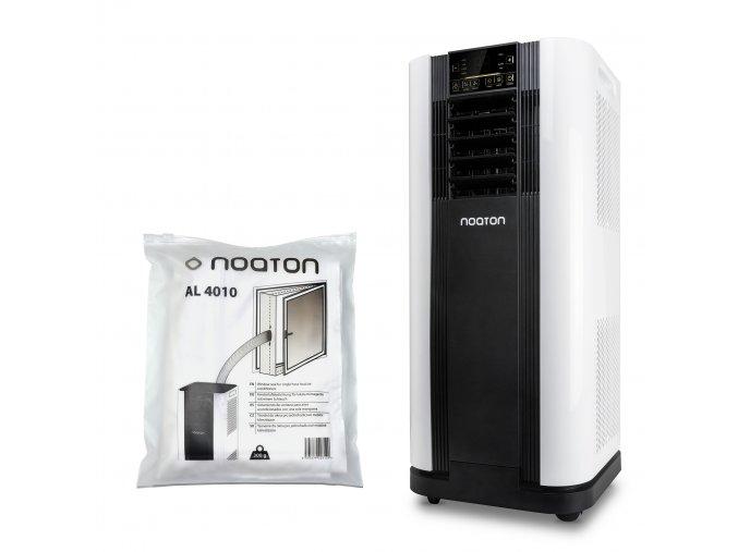 Noaton AC 5109 + Noaton AL 4010  Mit Fernsterdichtung zur mobilen Klimaanlage (4M)