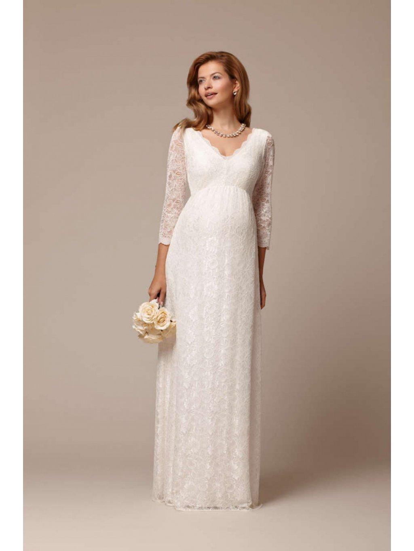 Svatební šaty těhotenské Chloe ivory