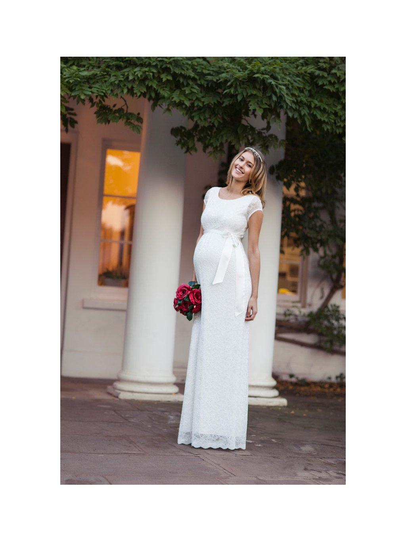 EMGIL L2 Emma Dress Long (Ivory)