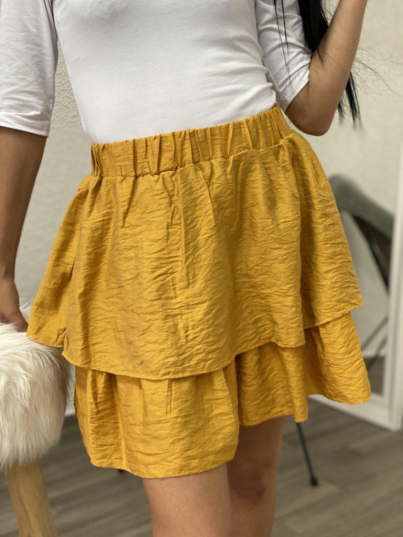 Sukně Flamenco žlutá