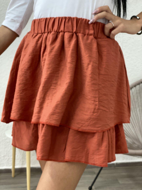Sukně Flamenco oranžová