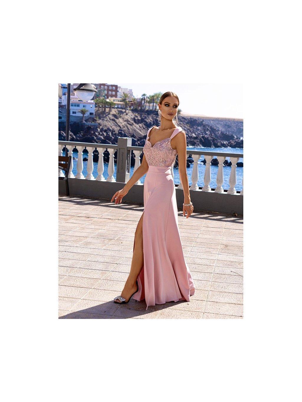 sukienka melani pudrowy roz (2)