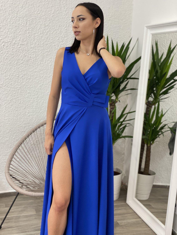Šaty Oprah modré