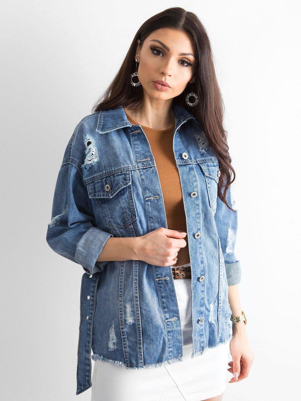 pol pl Niebieska kurtka jeansowa Mysterious 318620 5