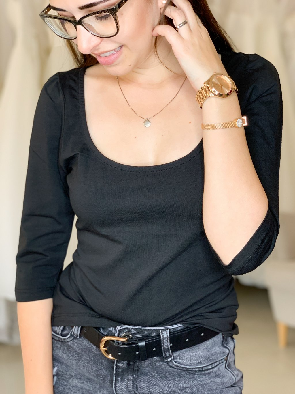 Tričko Ines černé