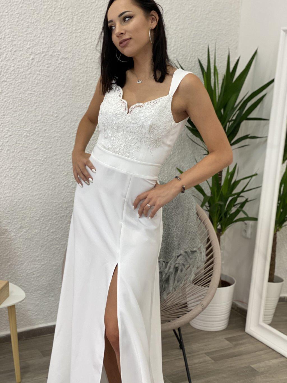 Šaty Melani bílé