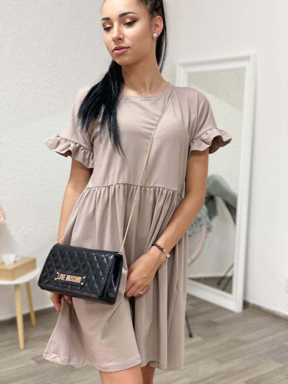 Šaty Marietta béžové