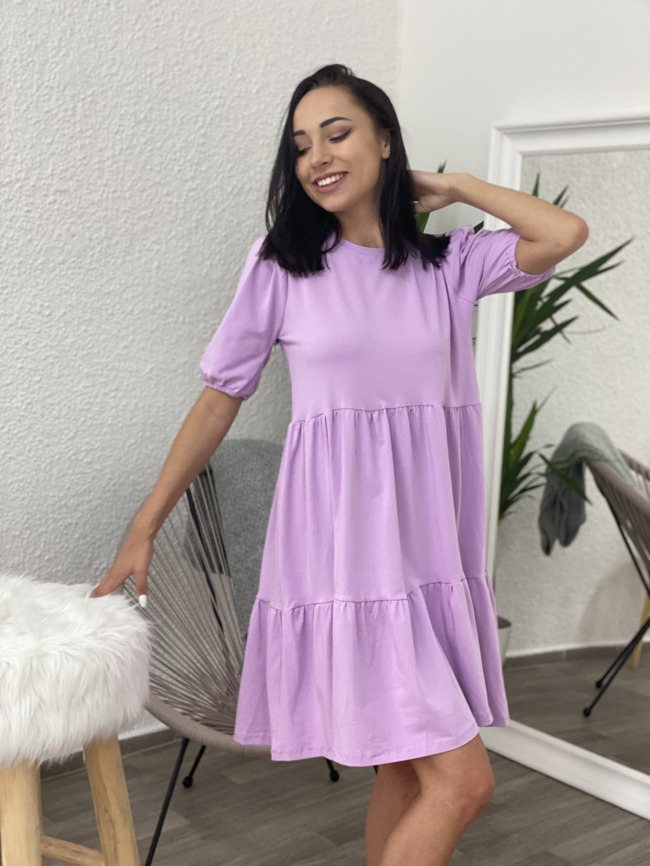Šaty Perla lila