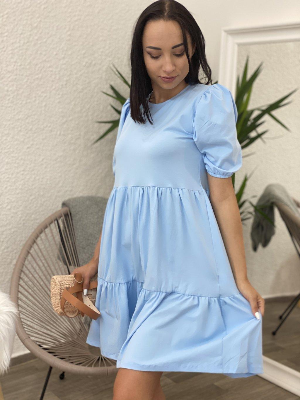 Šaty Perla modré
