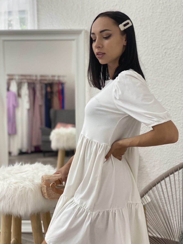 Šaty Perla bílé