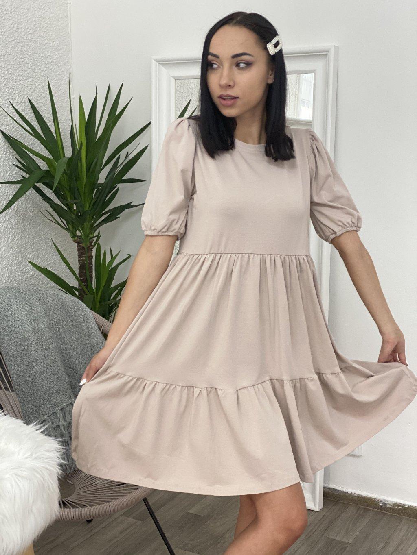 Šaty Perla béžové