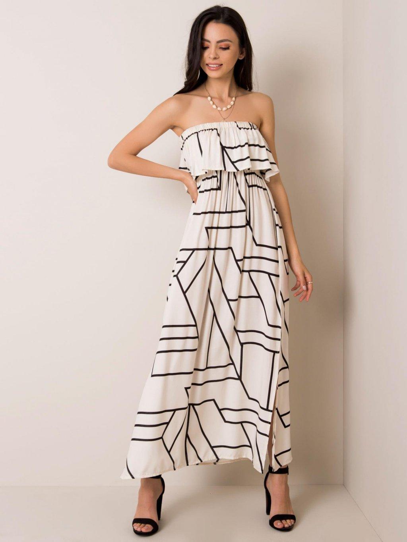 pol pl Ecru sukienka Beverly RUE PARIS 351386 1