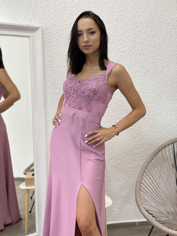Šaty Melani staro-růžová
