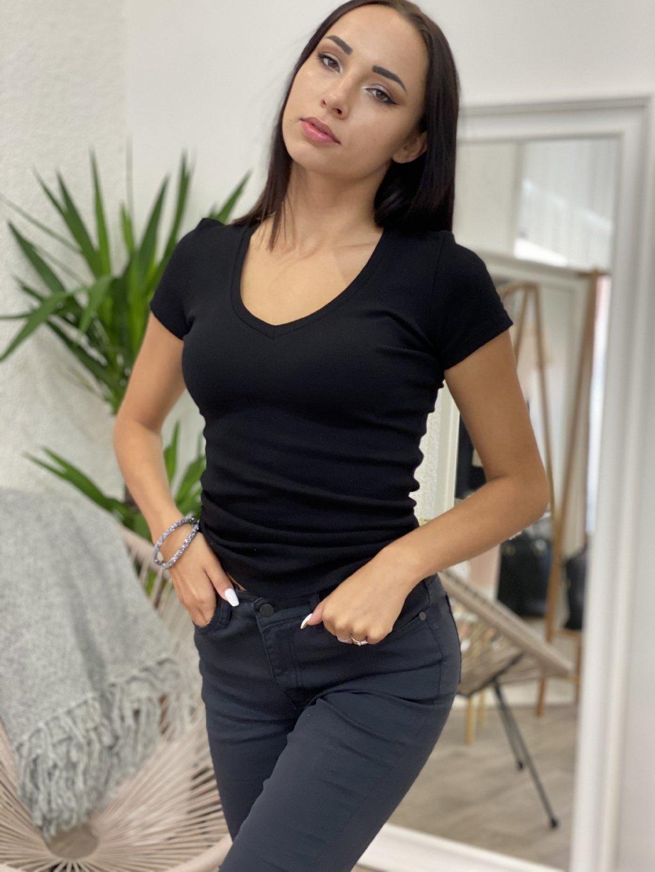 Tričko basic Silla černé