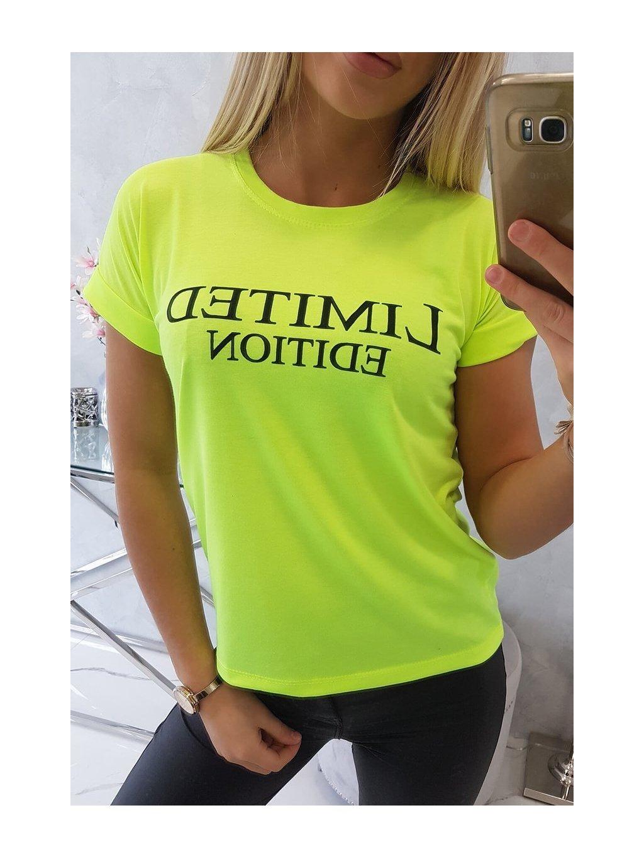slo pl Bluzka Limited edition zlty neon 15045 5